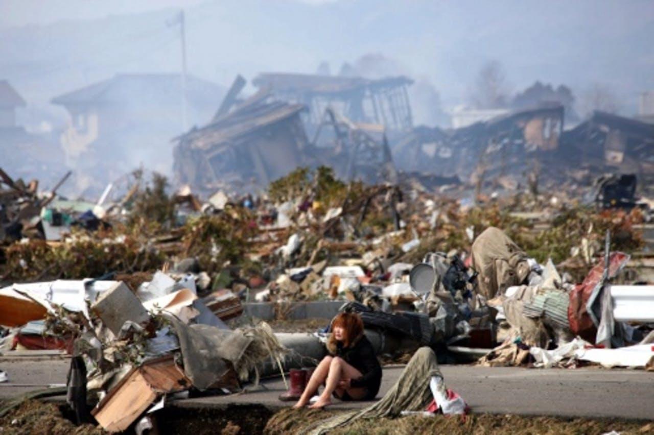 De ramp in Fukushima zorgde voor enorme (materiële) schade. EPA
