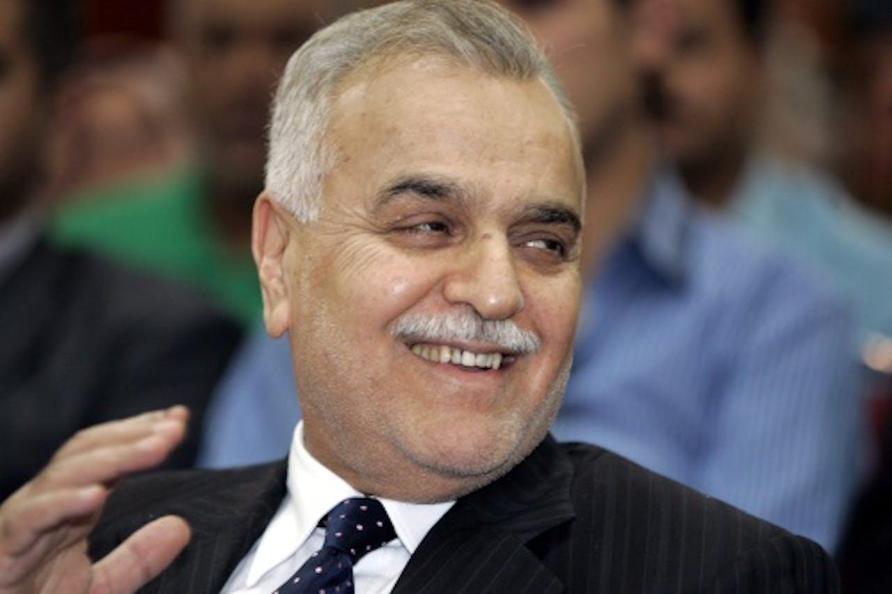 De gevluchte Iraakse vicepresident Tareq al-Hashemi. EPA