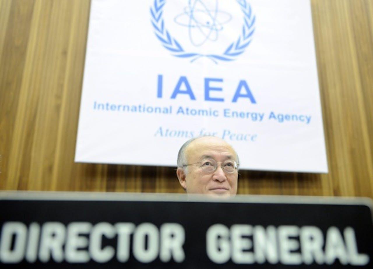 IAEA-hoofd Yukiya Amano. EPA