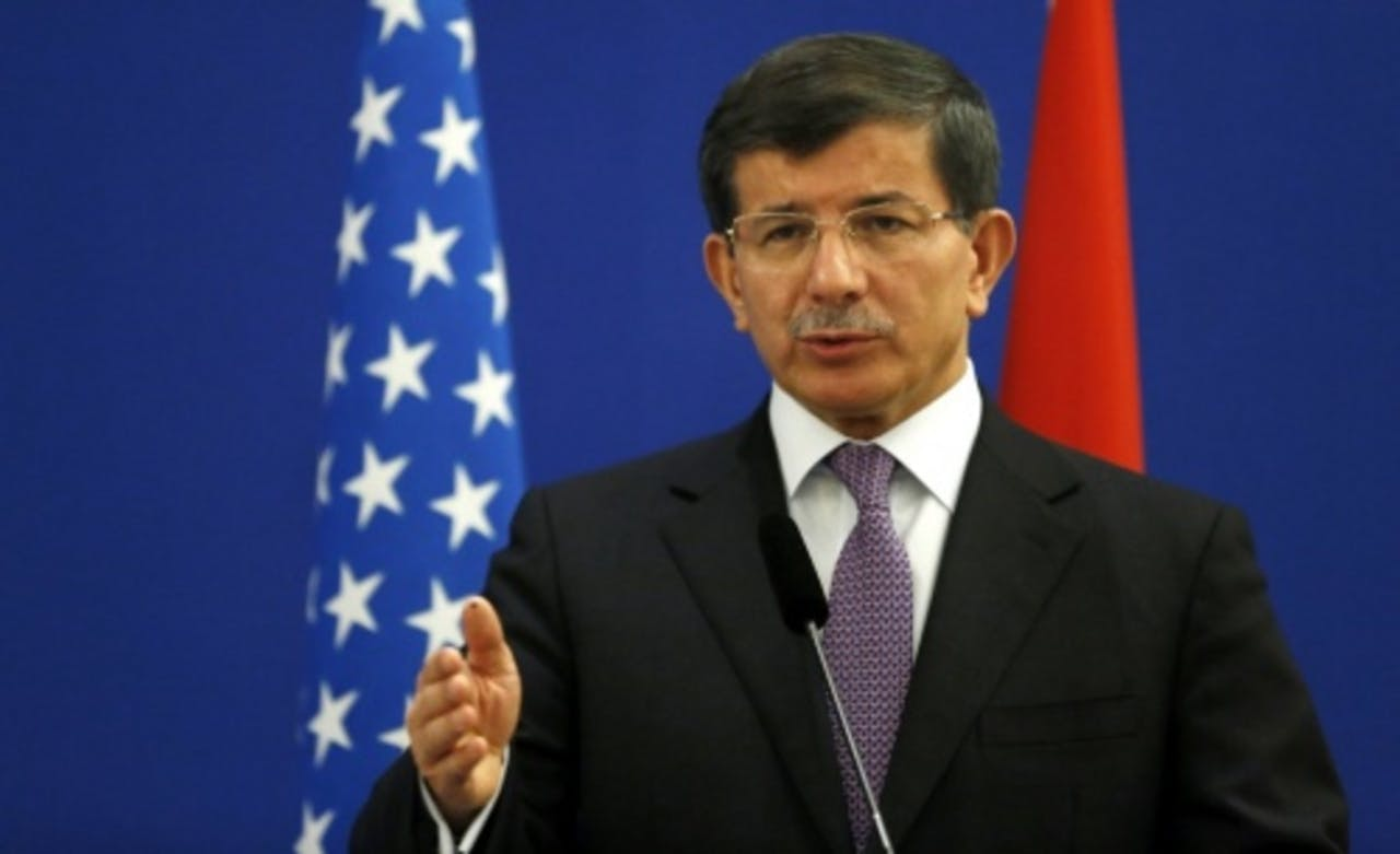 Ahmet Davutoglu. EPA