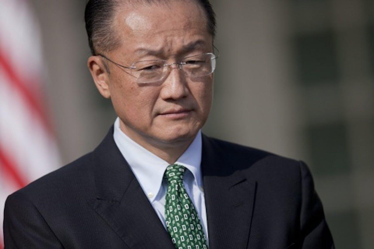 Jim Yong-kim. EPA