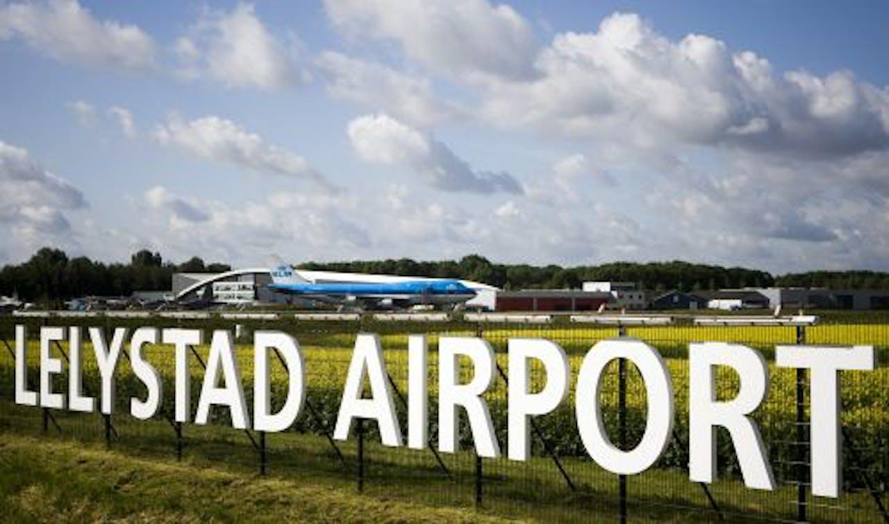 Vliegveld Lelystad Airport. ANP