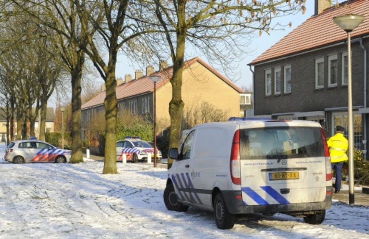 De politie doet nog onderzoek naar de ontvoering in Oudenbosch. ANP