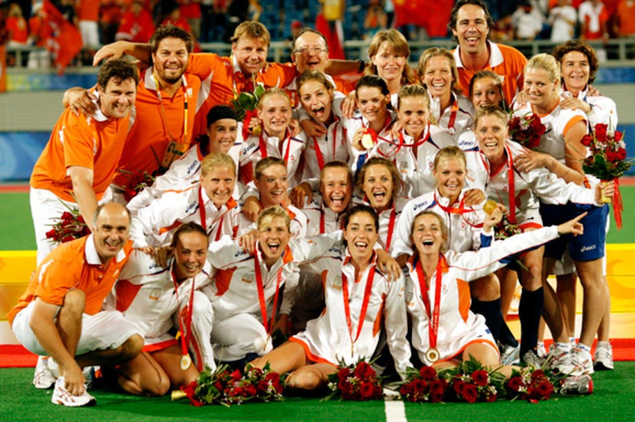 Oranje wint goud in Beijing