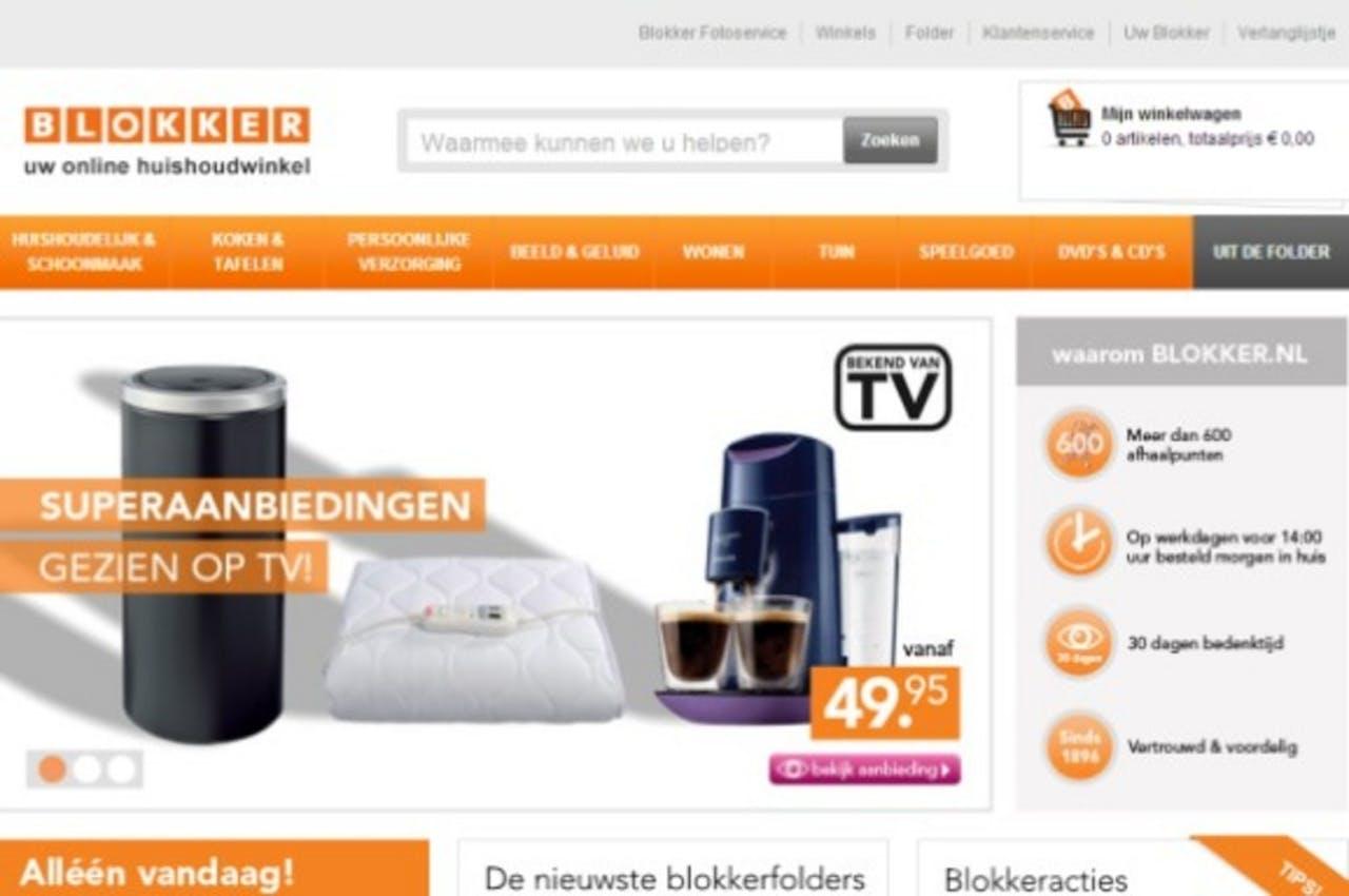 Blokker opent nieuwe webshop en fysieke afhaalpunten