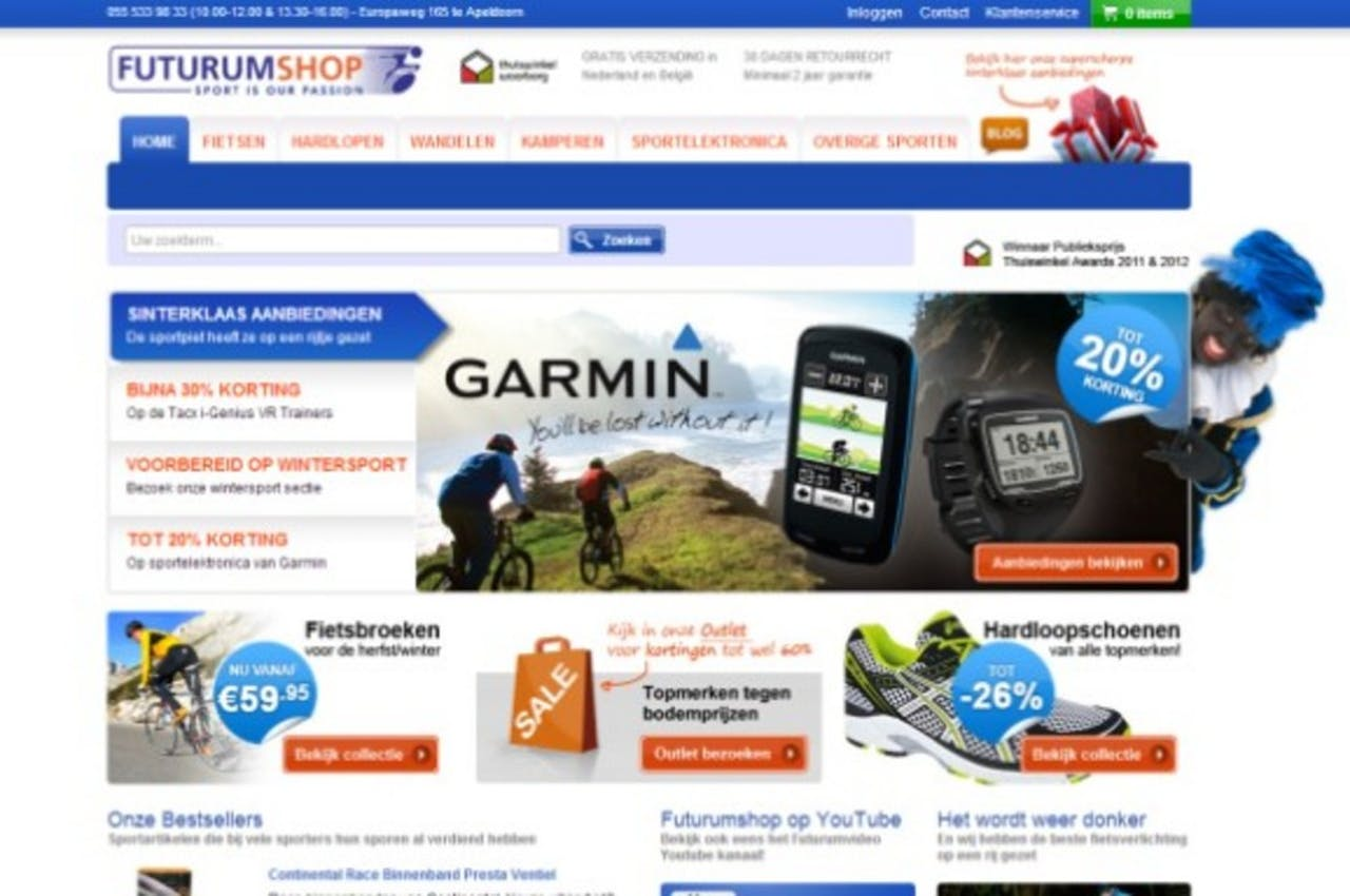 Futurumshop ontwikkelt nieuwe website samen met klanten