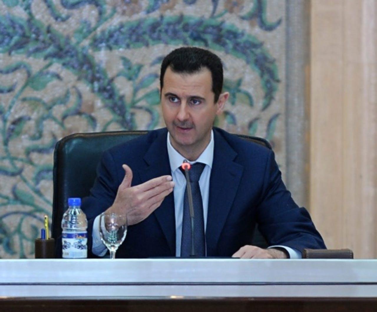 President Bashar al-Assad. EPA