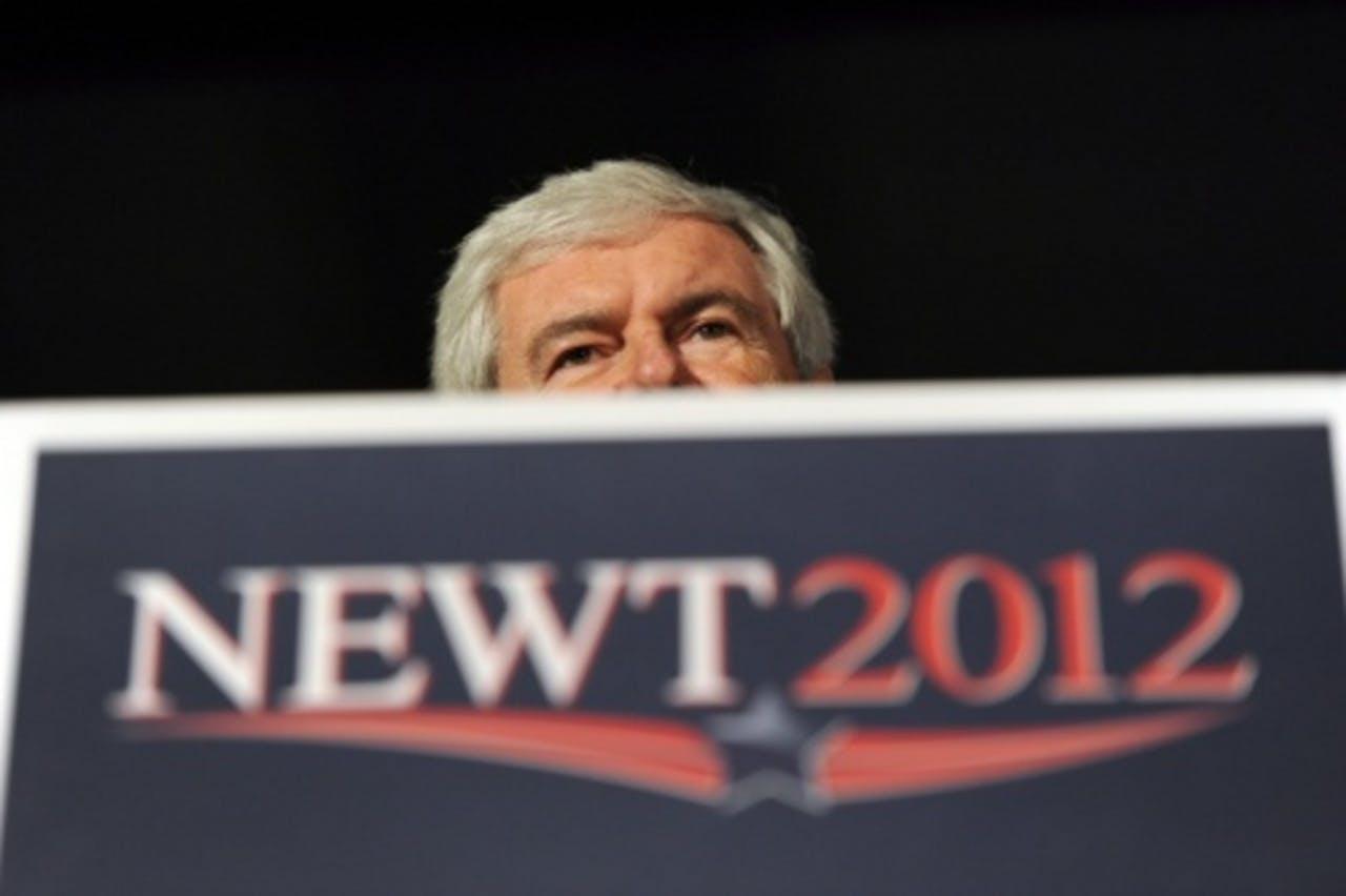 Newt Gingrich. EPA