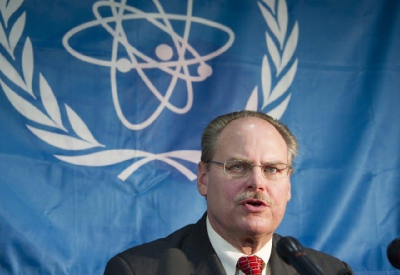 James Lyons van de IAEA. EPA