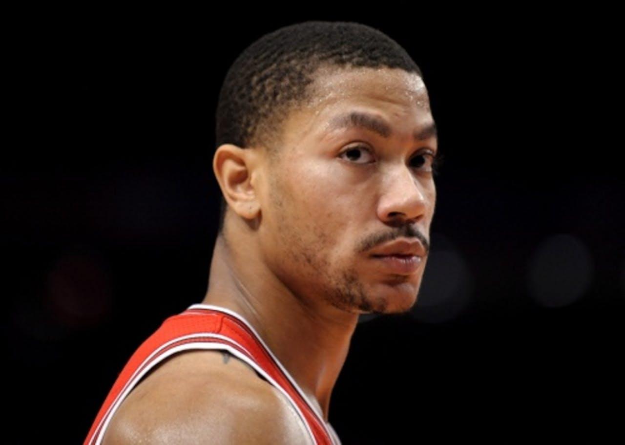 Derrick Rose van de Chicago Bulls. EPA