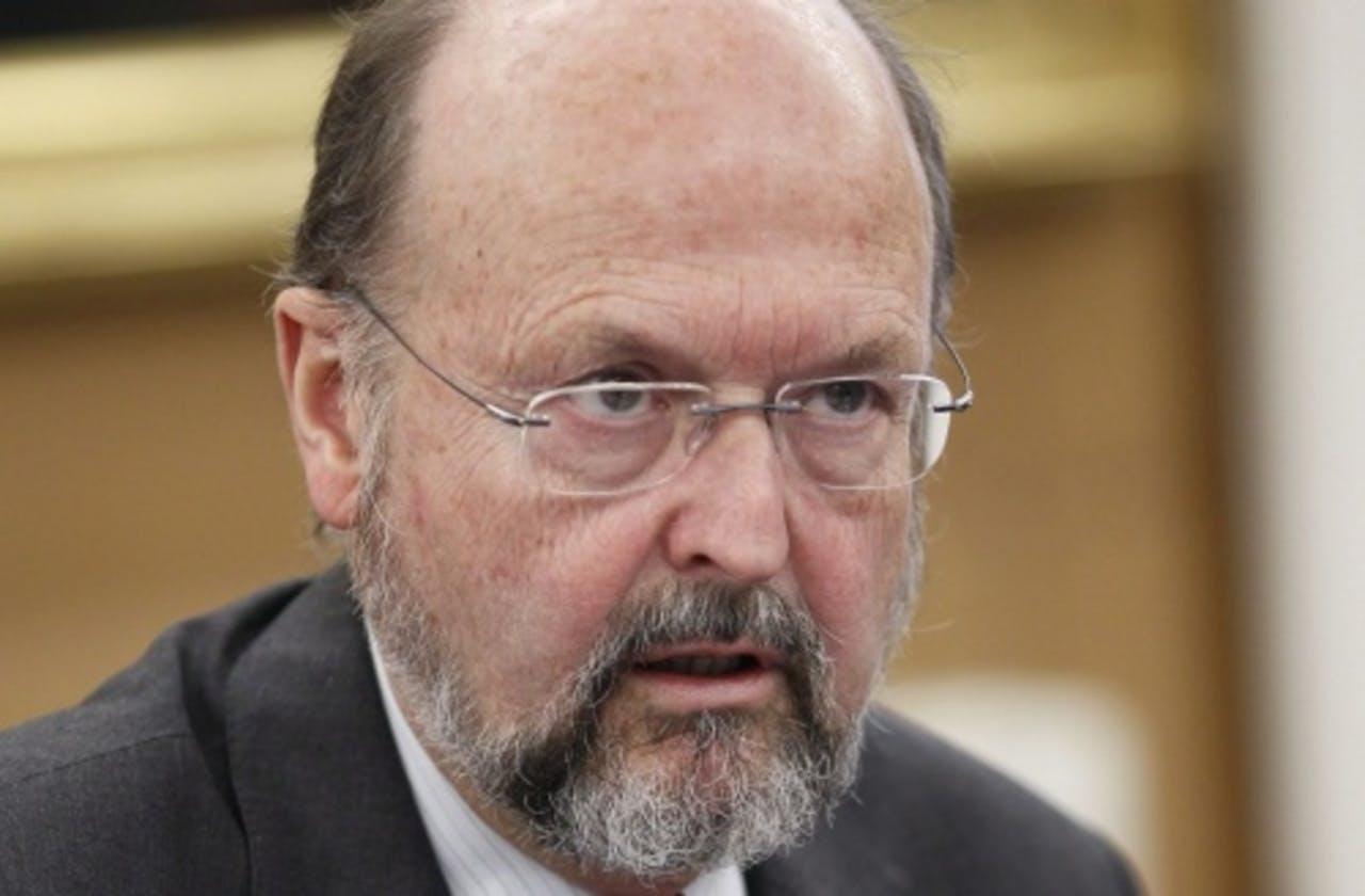 Luc Coene. EPA