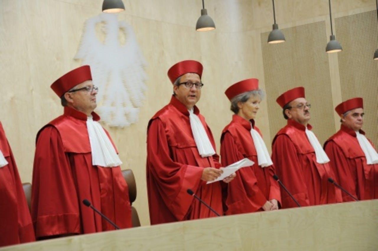 Het Constitutionele hof in Duitsland. EPA