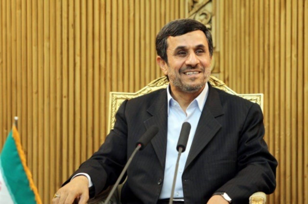 Mahmoud Ahmadinejad. EPA