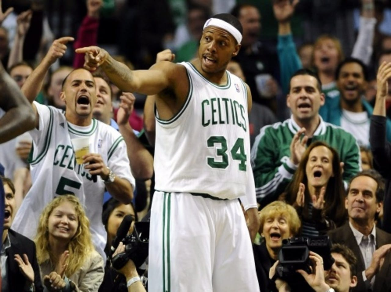 Paul Pierce. EPA