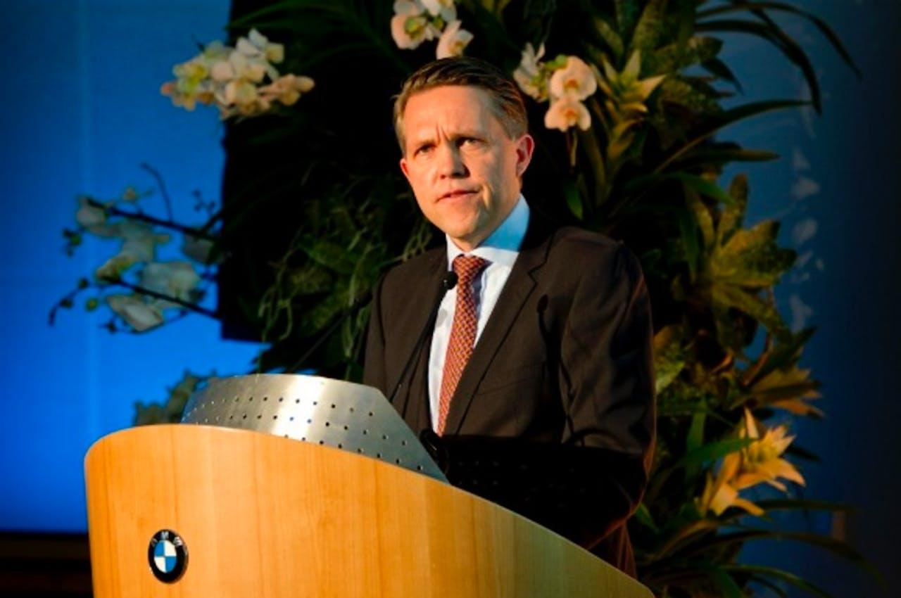 BMW-directeur Jan-Christiaan Koenders