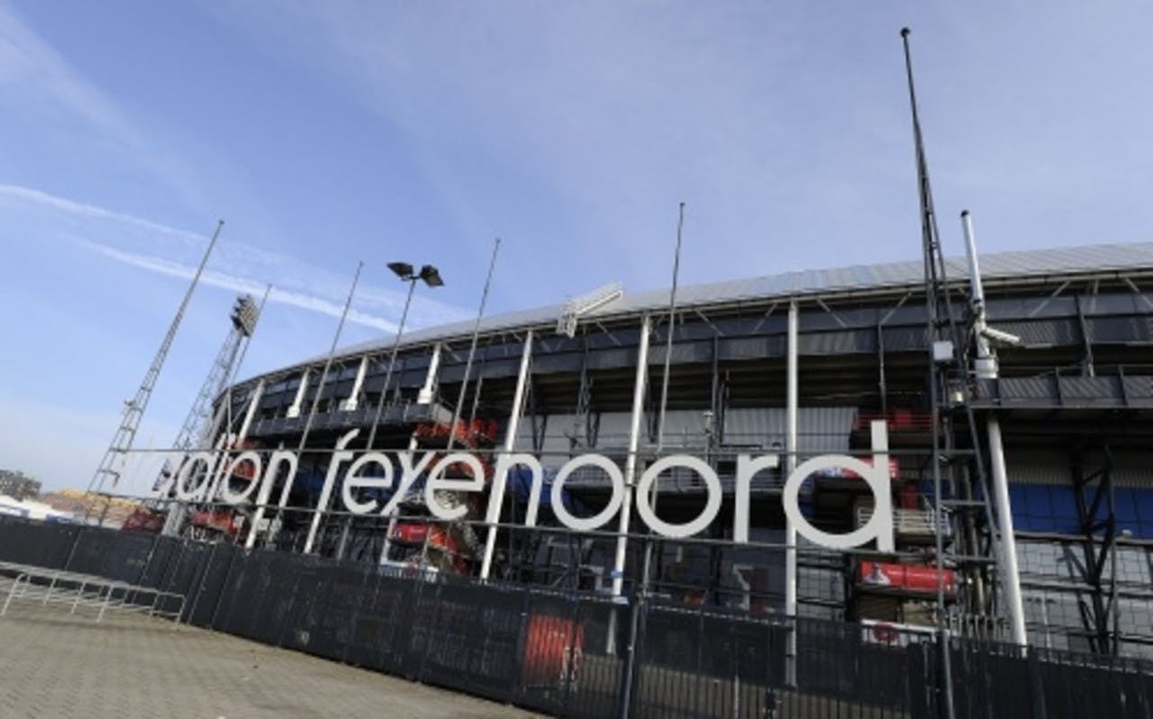 Het huidige stadion van Feyenoord. ANP