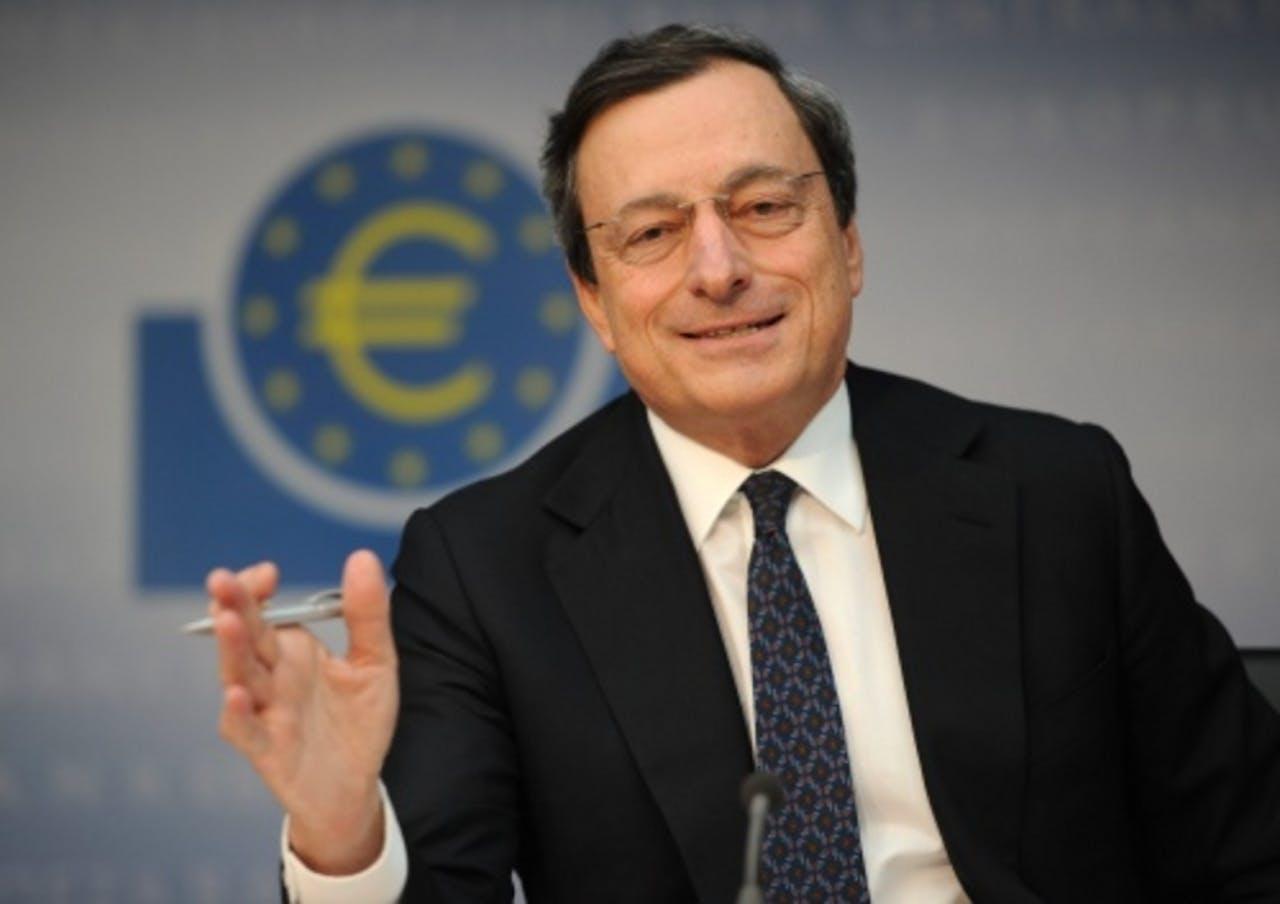 President van de ECB. EPA