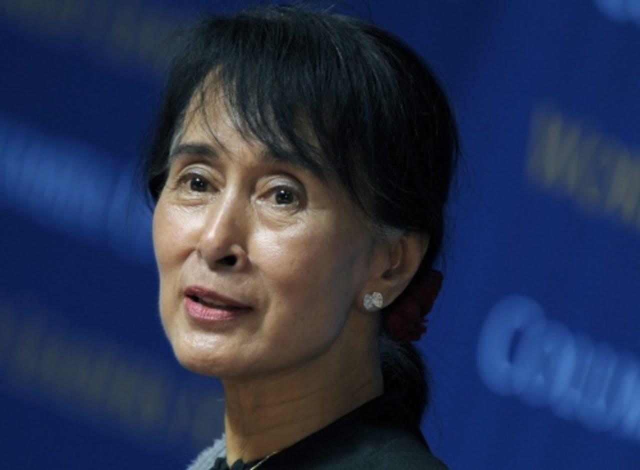 Aung San Suu Kyi. EPA