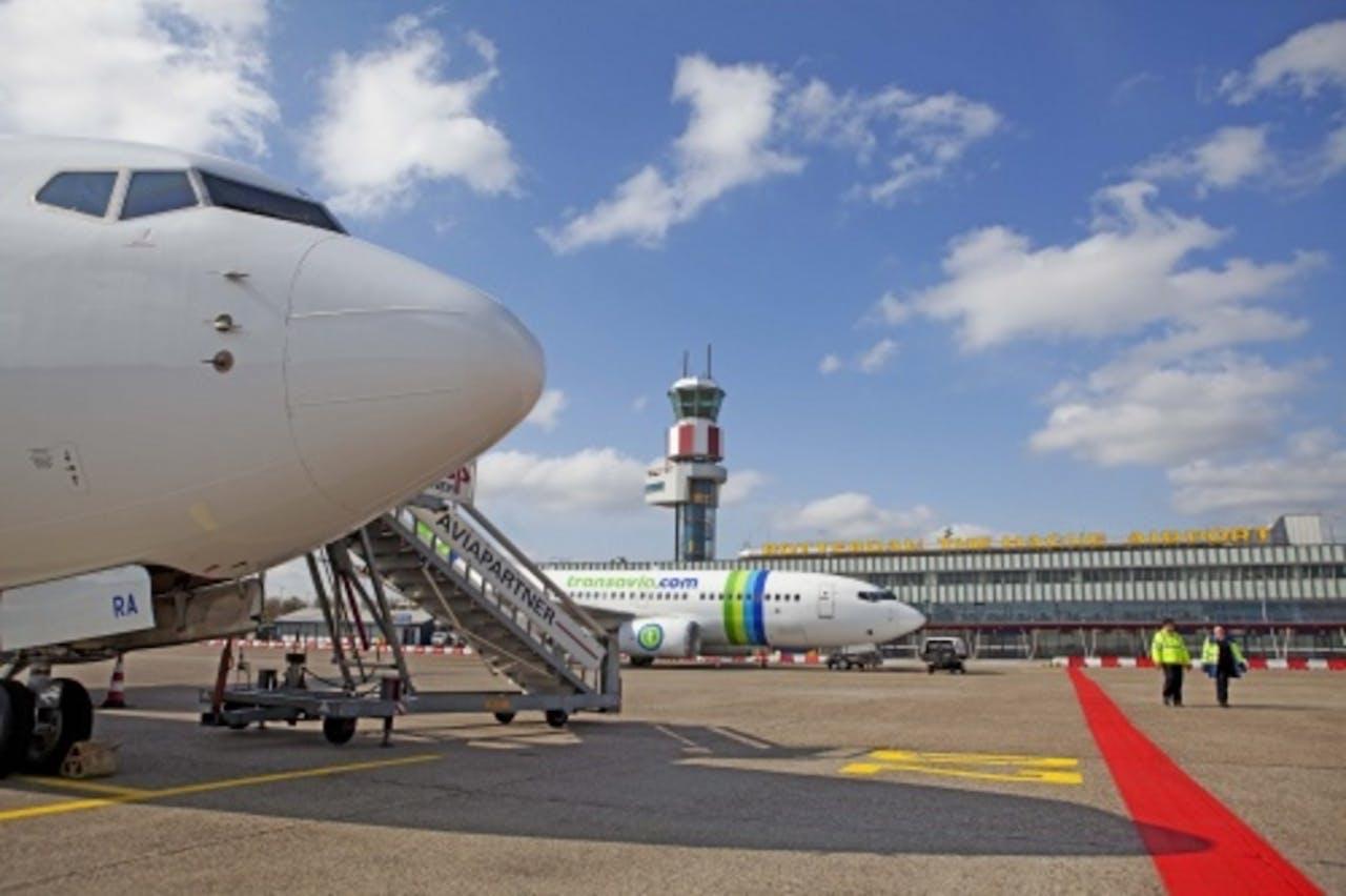 Rotterdam The Hague Airport. ANP