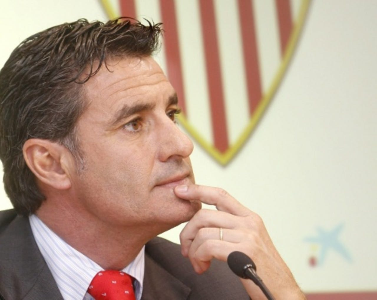 Trainer Michel van Sevilla. EPA