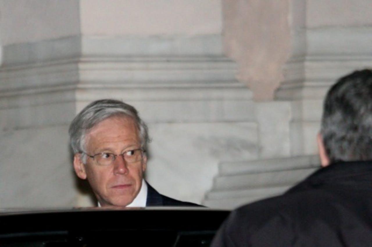 Charles Dallara, directeur van de international bankenorganisatie IFF. EPA