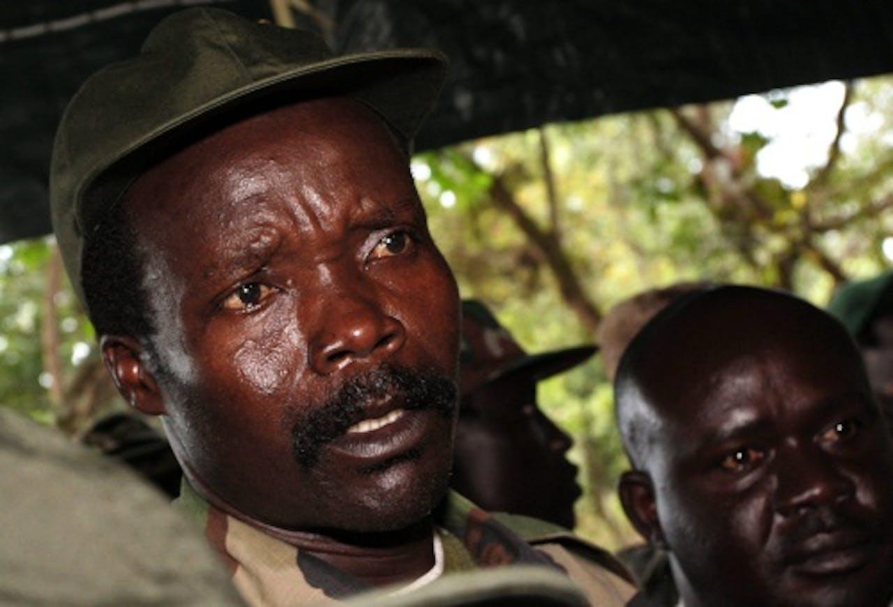 Joseph Kony. EPA