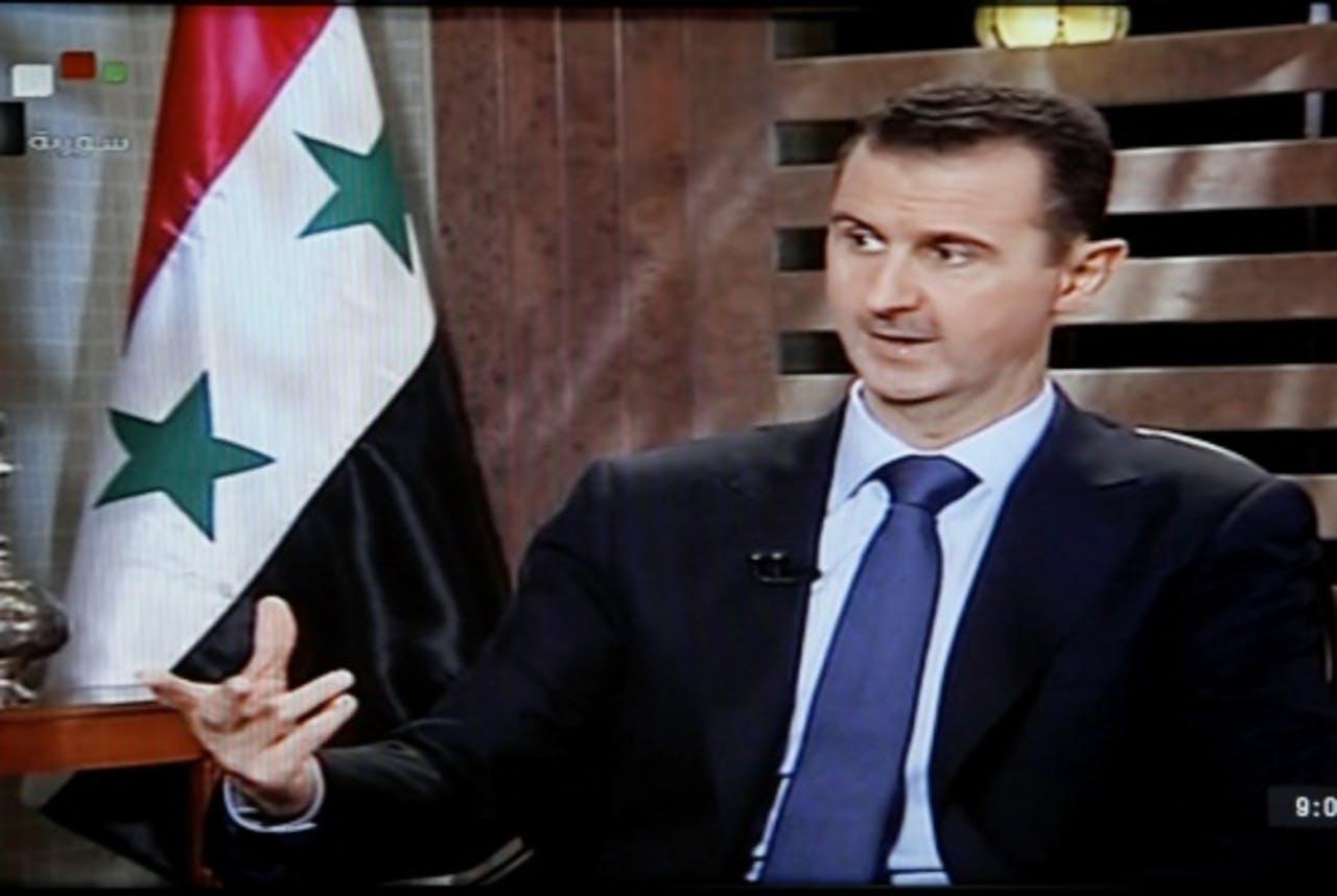 Bashar al-Assad. EPA