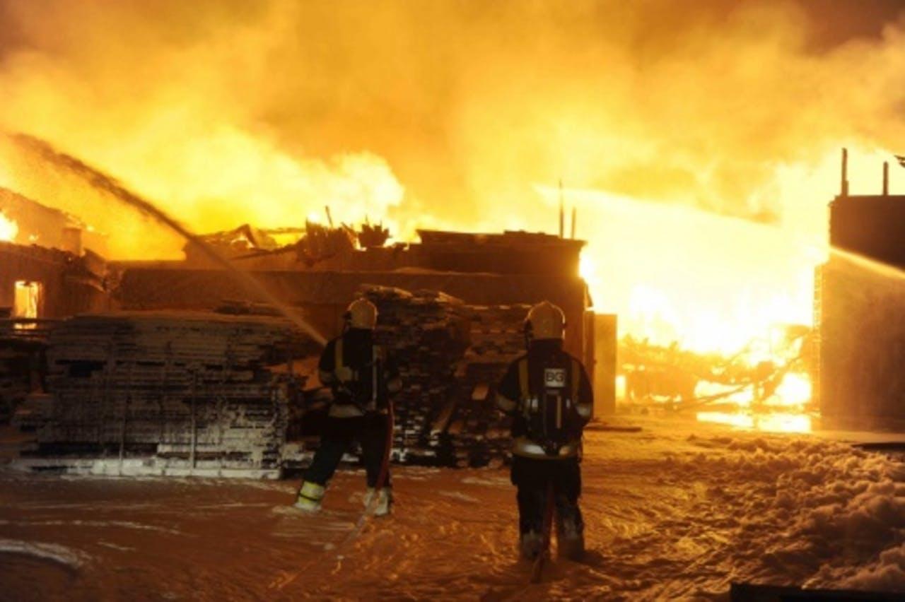 Archiefbeeld brand in Laren. ANP
