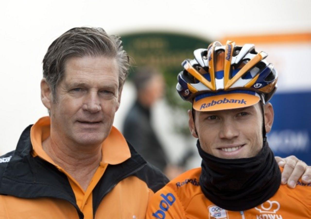 Leo van Vliet en Lars Boom op archiefbeeld. ANP