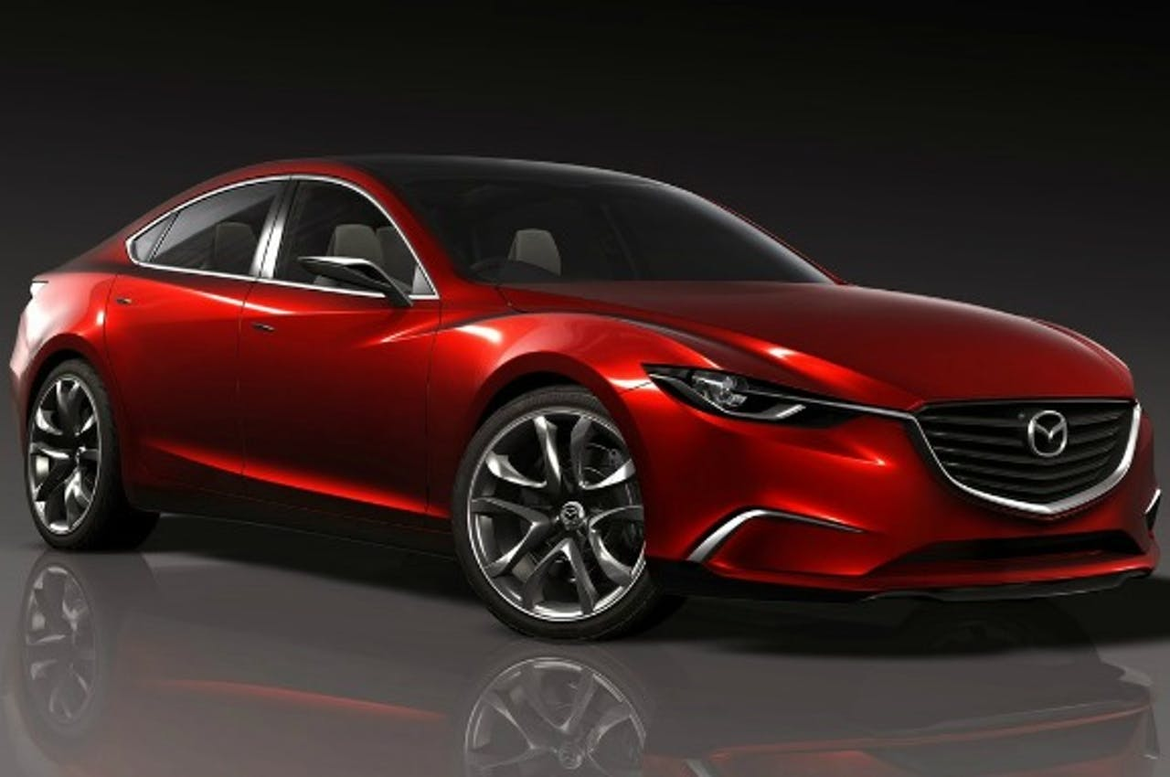 Takiri Concept wordt Mazda 6