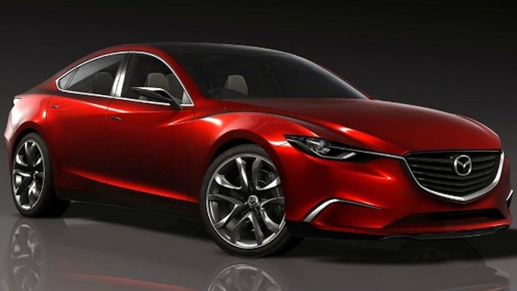 Takiri Concept Wordt Nieuwe Mazda 6 Bnr Nieuwsradio
