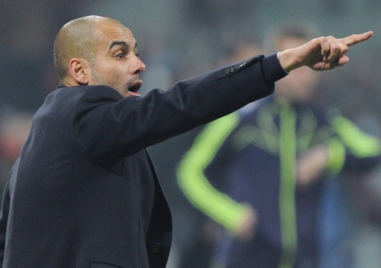 FC Barcelona-coach Josep Guardiola. EPA