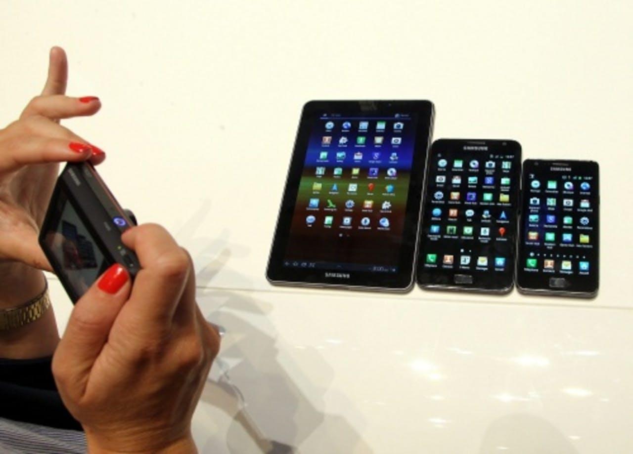 Samsung producten. EPA