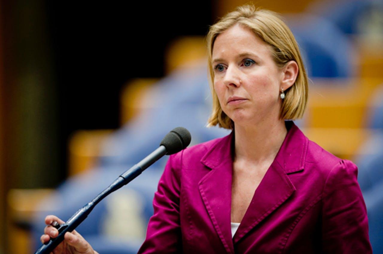 Tweede Kamerlid van D66 Stientje van Veldhoven