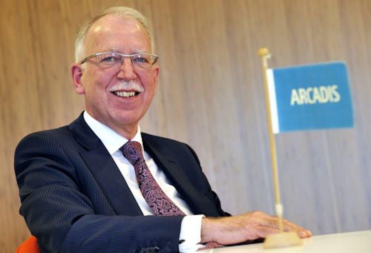 Bestuursvoorzitter Harrie Noy van Arcadis. ANP