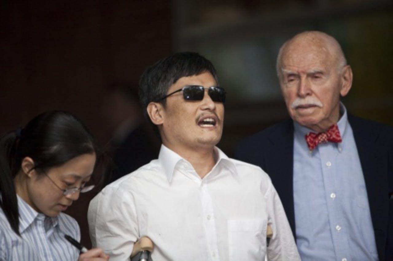 Chen Guangcheng. EPA