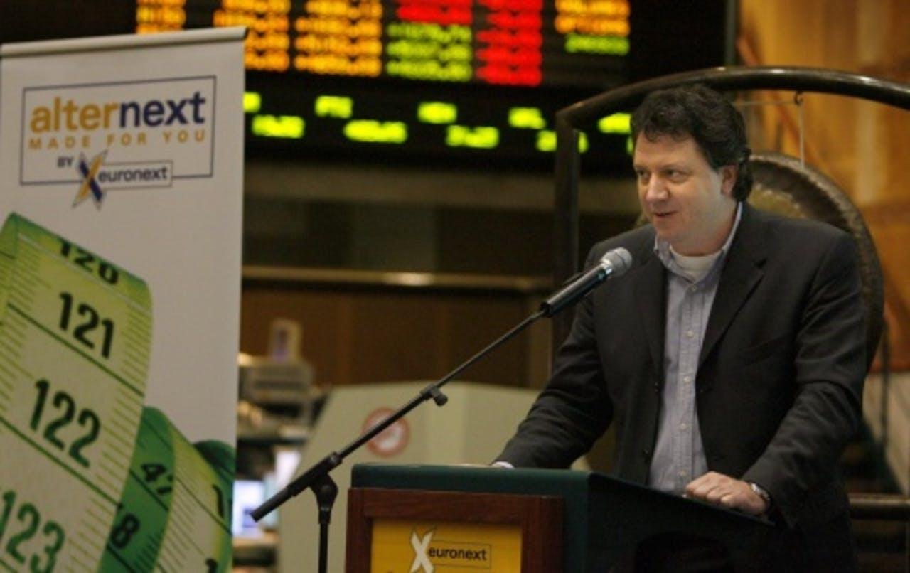 Thijs Manders van TMC (2006, ANP).