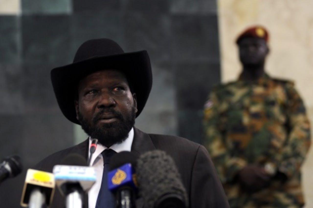 President van Zuid-Sudan Salva Kiir. EPA