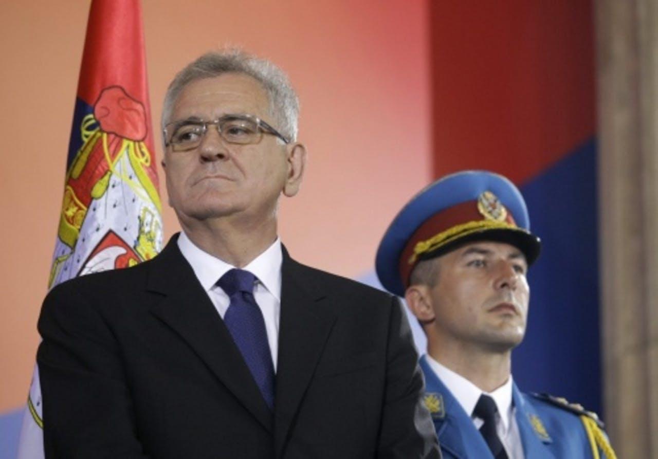 Tomislav Nikolic (L). EPA