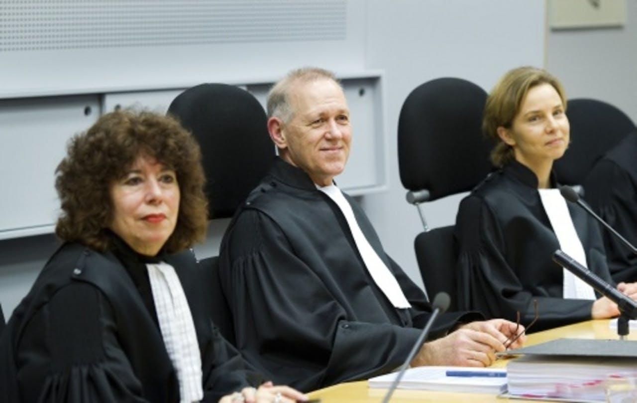 De rechters die de Klimopzaak behandelden. ANP