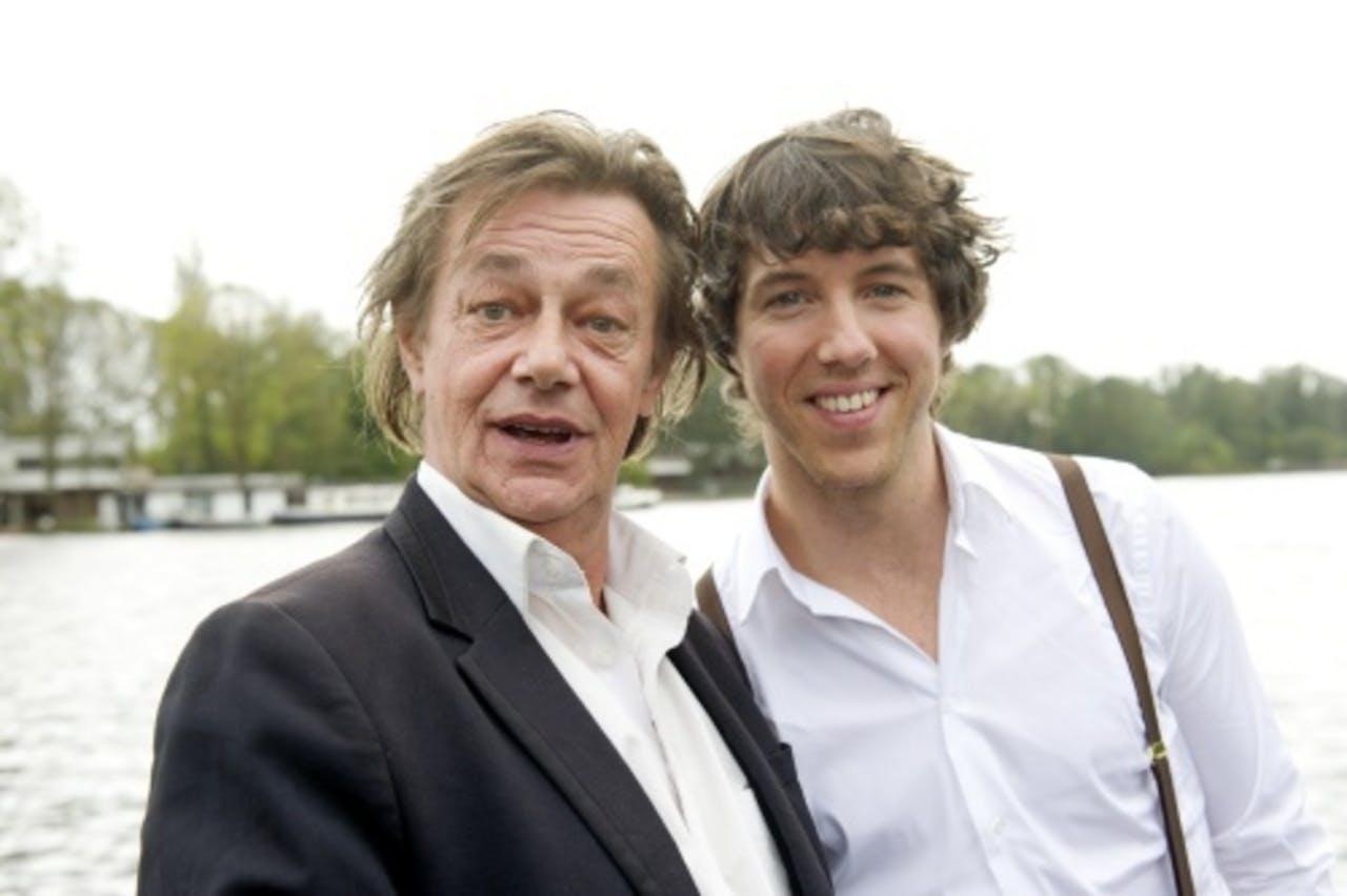 Hans Hoes (L) en William Spaaij. ANP Kippa