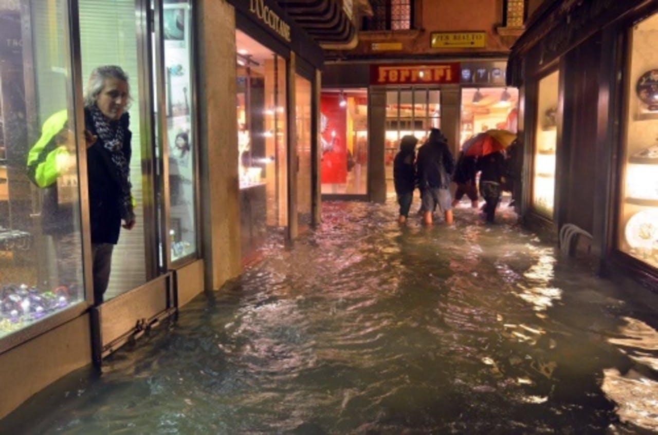 Beeld uit Venetië. EPA