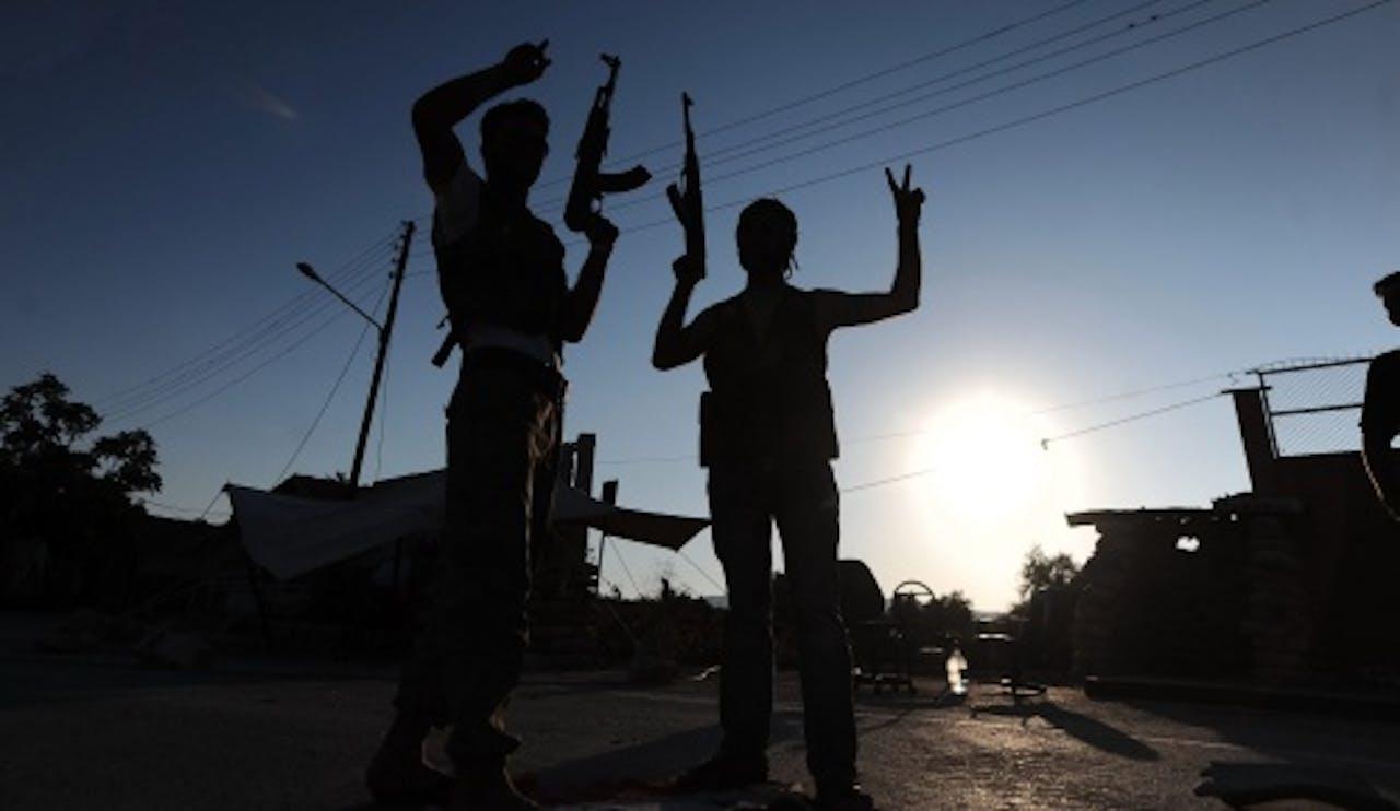 Syrische rebellen. EPA