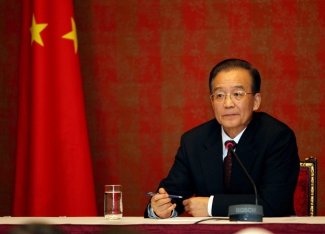 Wen Jiabao. EPA