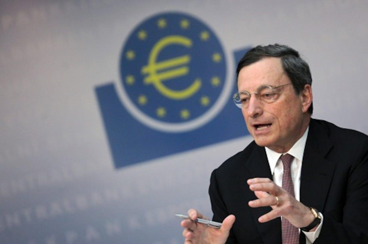 Mario Draghi. EPA