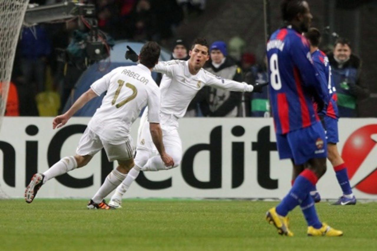 Ronaldo zette Real in de 28e minuut op voorsprong. EPA