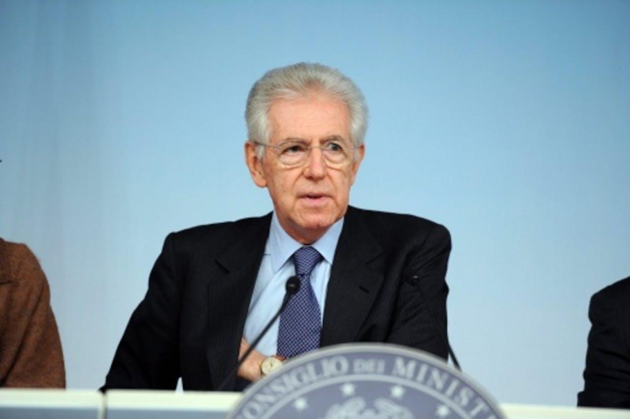 Mario Monti. EPA