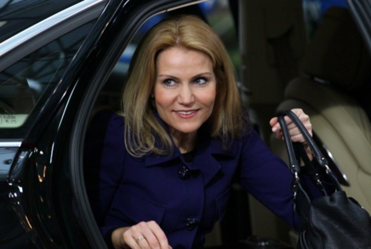 Helle Thorning-Schmidt. EPA