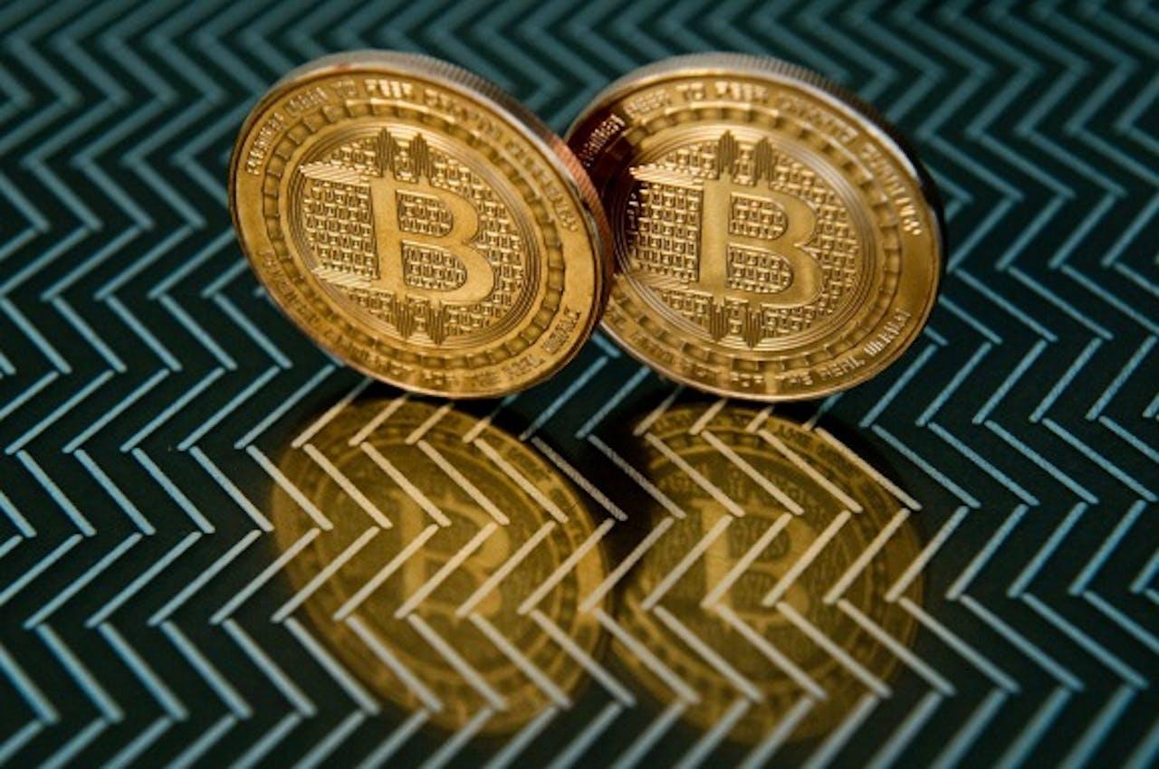 Foto: ANP - Bitcoin medals