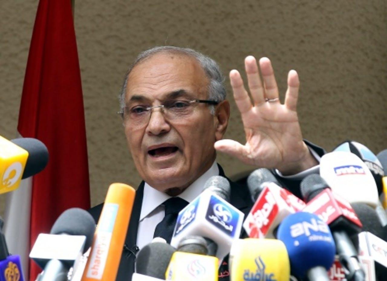 Ahmed Shafiq. EPA